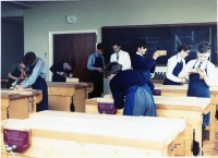 1964-5 New Woodwork Rm
